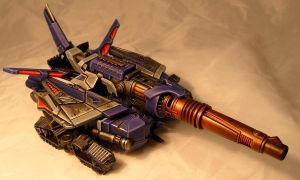 Fall of Cybertron Galvatron alt mode by Spurt-Reynolds