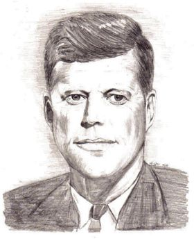 President Kennedy by marmicminipark