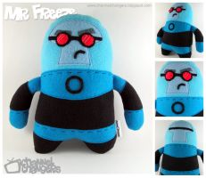 Mr. Freeze Plush by ChannelChangers