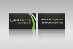 PureSimple Business Card by puresimple-net