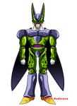FanArt: Perfect Cell by Robie-Chan