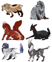 Original Species Adopts Closed by TeacupChimera