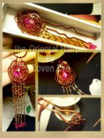 The Oriental Hairpin number 1 by CovenEye