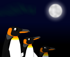 The kings in moonlight by Enricthepenguin92