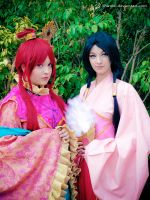 MAGI:TLoM -  Like two sisters by Shirokii