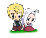 Fairy Tail - Laxus and Mirajane by CandyAddict774