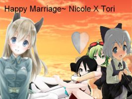 Married! Life married to a loli Love you tori XD by Witchling413