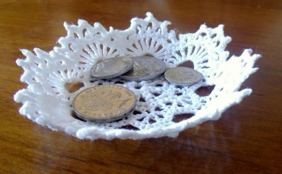 Crochet Bowl by Craftcove
