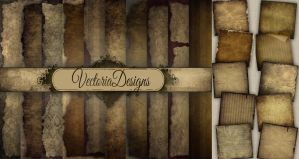 Digital Grunge Paper Pack 12 x 12 inch by VectoriaDesigns