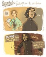 Snape's Pwnage by flominowa