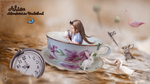 Alice In CupAlice in a tea cup by saratopale