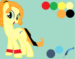 MLP: Quill Shine reference sheet by lillybug03