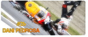 Dani Pedrosa, as usual by IsK4nD3R