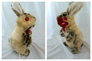 Zombie Bunny has TEETH 2 by IckyDog