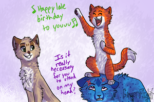 Happy late birthday to youuu by GingerFlight