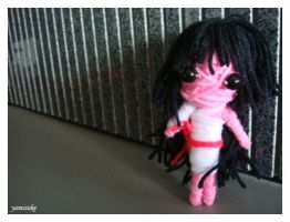 Samurai Girl Voodoo Doll by Yamisuke