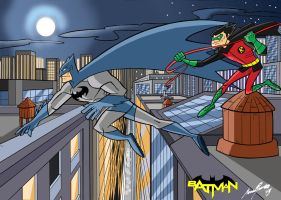 Batman and Robin by Granamir30