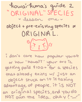 ''original'' species by fairypaws
