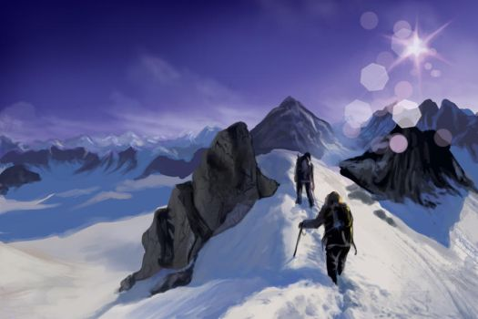 Snow expedition by IPPO-Lita
