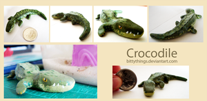 Crocodile repaint - SOLD by Bittythings
