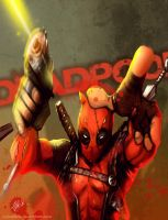 Deadpool by juliodelrio