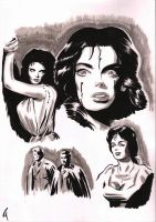 Black Sunday - Barbara Steele by bedtime143