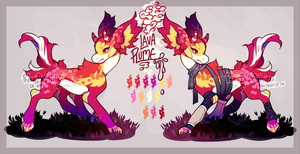 {Auction} - Lava Plume by PhloxeButt