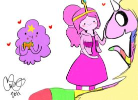 Adventure Time Sketches 3 by Celebi9