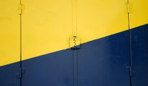 Blue and yellow, Jerusalem by dpt56