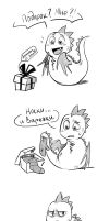 The best present for Dragon by Drkav