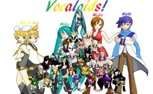 Vocaloid Pyramid by AnimeLuvr15