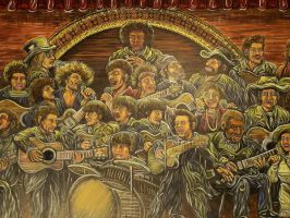 Music Mural detail by AlexanderWilliamson