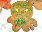 Cthulhu Christmas Cookie by Lionheartssj