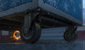 Little flame by veprikov
