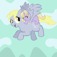 I love fly with you mom by SirGalahadBW