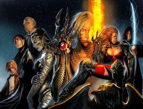 witchblade 15 aniv cover by nebezial
