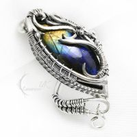 UXARTH EXENTH Silver and Labradorite by LUNARIEEN