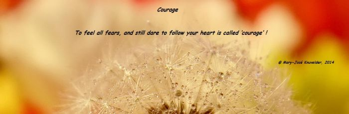 Courage by Mary-Jose