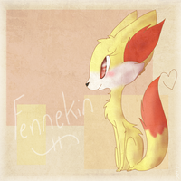 .:Fennekin:. by Frosty-Kitteh