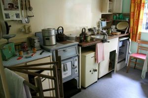 Stock - 1950's Kitchen by GothicBohemianStock