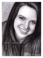 Katie Stevens drawing by xnicoley