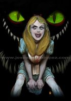 Zombie Alice in the dark by Raro666