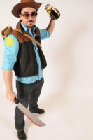 Team Fortress 2 Sniper Cosplay by DXBigD