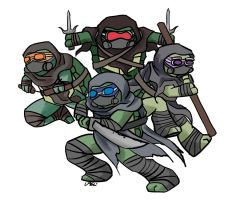 TMNT (AU): Welcome to the new age by Mosrael-the-Waker