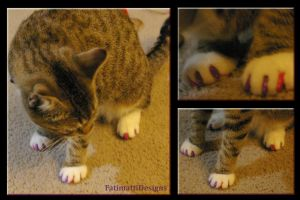 Jazzy got her nails did by FatimattiDesigns