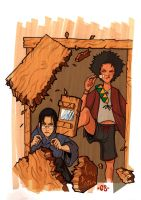 Champloo color WIP by iliasPatlis