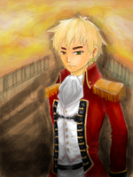 Tegaki work: Pirate Arthur by la-coir