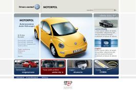 VW-Motorpol website project by switchu