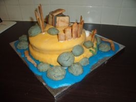 Pirate Island Cake 10 by BevisMusson
