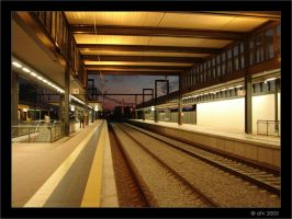 Railroad Station II by afv